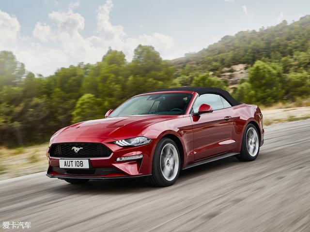 福特新款Mustang敞篷版官图