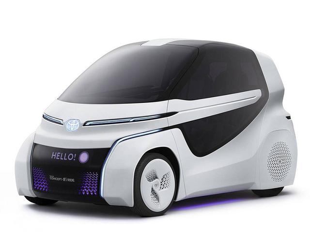 丰田CONCEPT-爱i Ride概念车