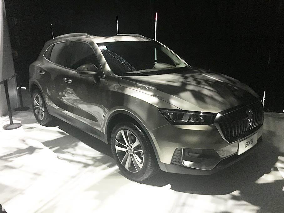 2018款宝沃BX5正式上市