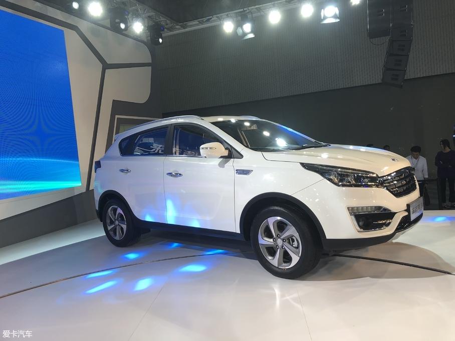 2017广州车展 华泰新圣达菲5正式发布