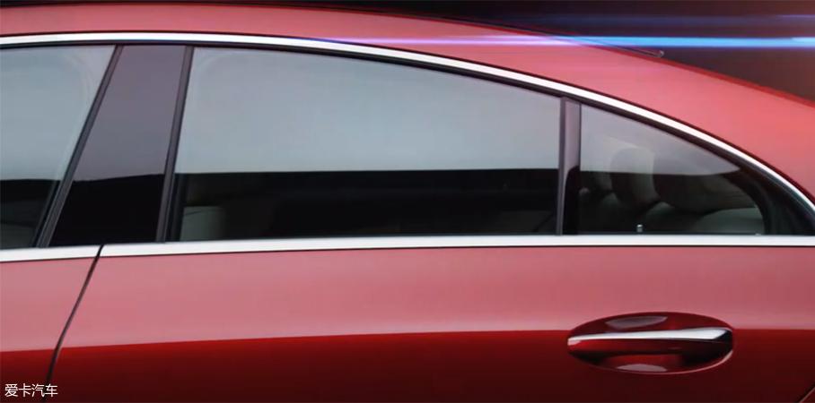 全新奔驰CLS最新预告图 洛杉矶车展首发