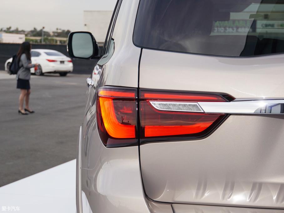 2017洛杉矶车展:新款英菲尼迪QX80亮相