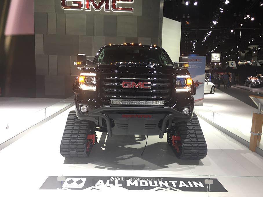 洛杉矶车展:GMC SIERRA All Mountain