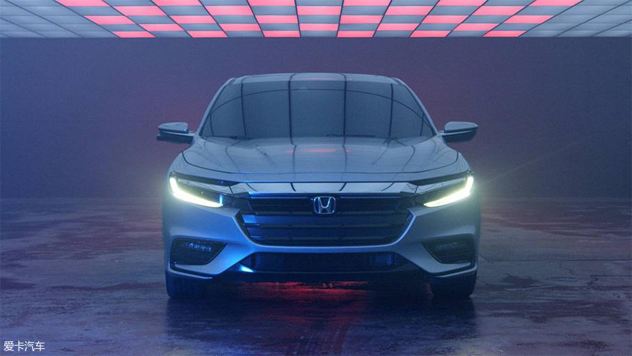 本田新一代Insight原型车预告图
