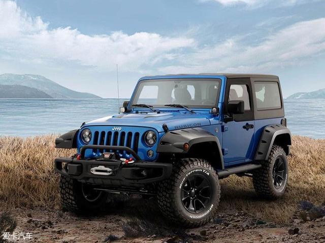 Jeep牧马人Mopar限量典藏版