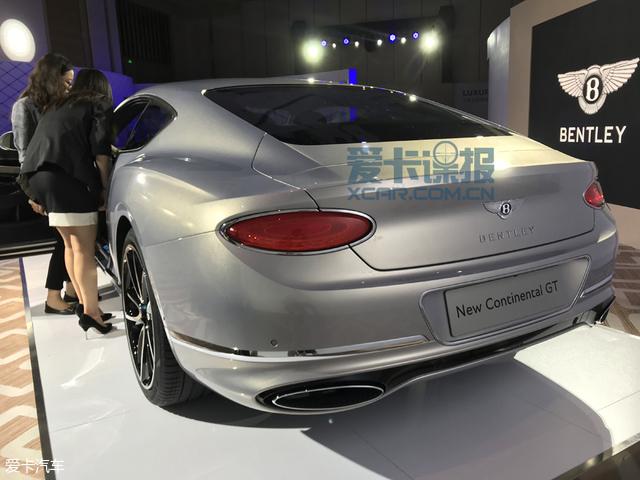 2017广州车展探馆:全新欧陆gt抢先看