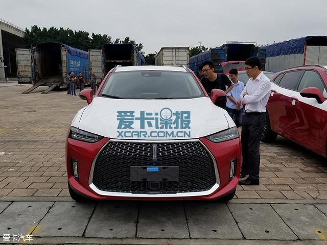 广州车展探馆:WEY P8混动车型抢先实拍