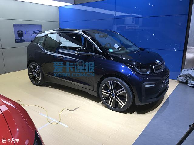 2017广州车展:宝马新款i3正式国内亮相