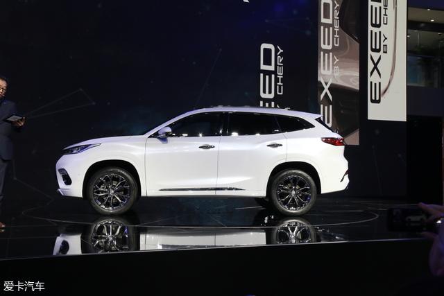 2017广州车展:奇瑞EXEED TX正式发布