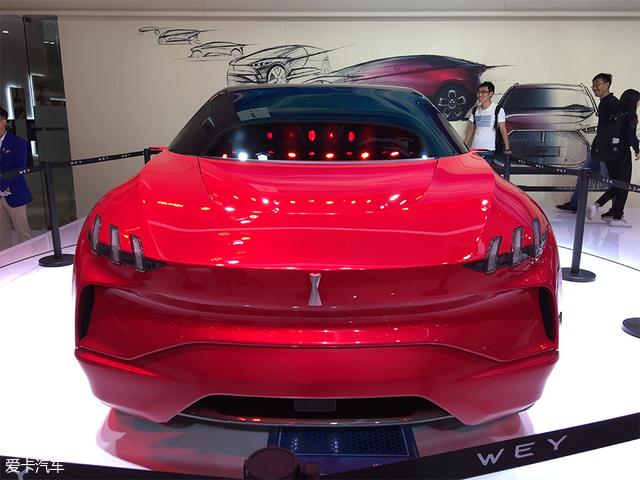 2017广州车展:wey xev概念车正式亮相