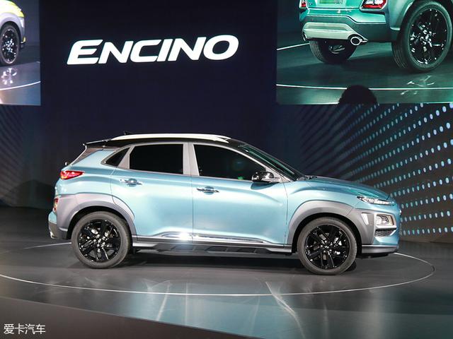 广州车展:现代ENCINO发布将明年上市