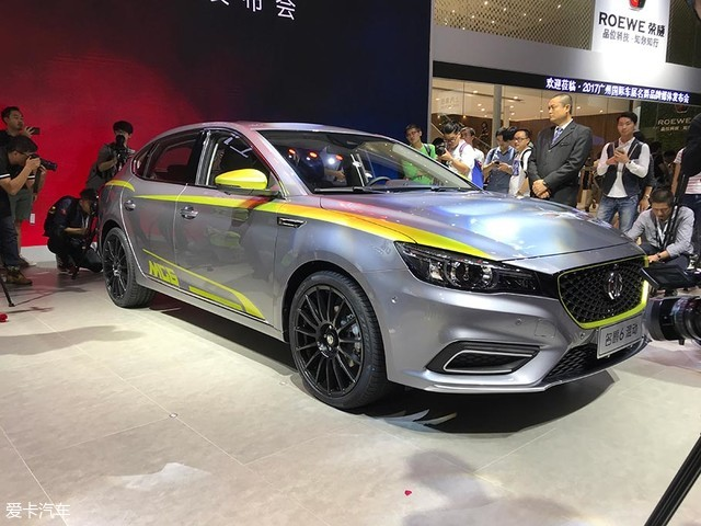 2017广州车展:全新名爵6插电混动版发布