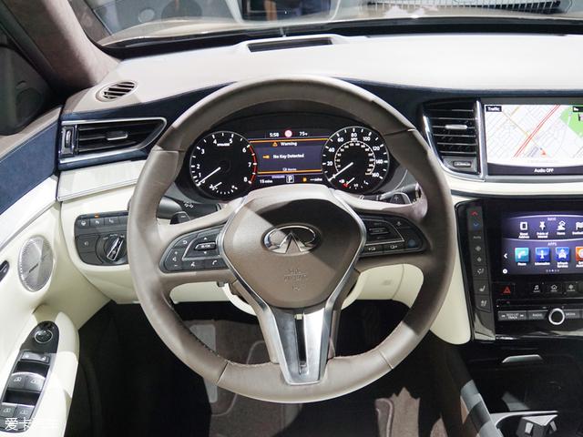2017洛杉矶车展:全新英菲尼迪QX50发布