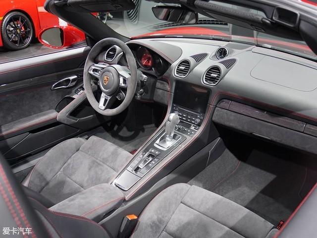 洛杉矶车展 保时捷718 Boxster GTS发布