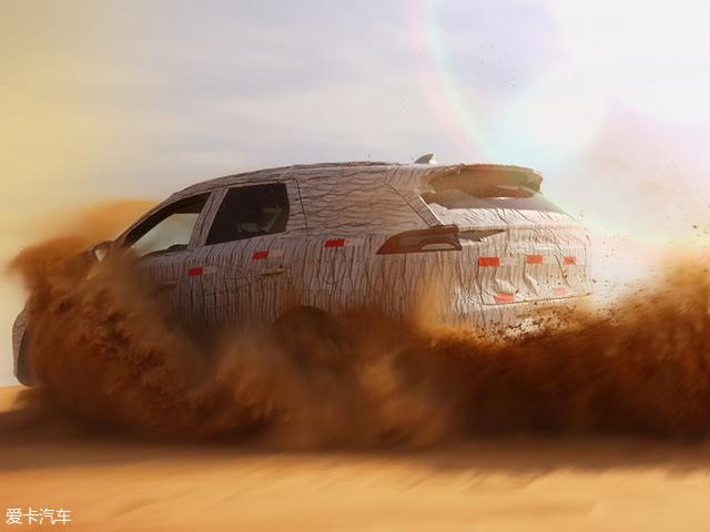 比亚迪全新SUV沙漠谍照 或将明年上市