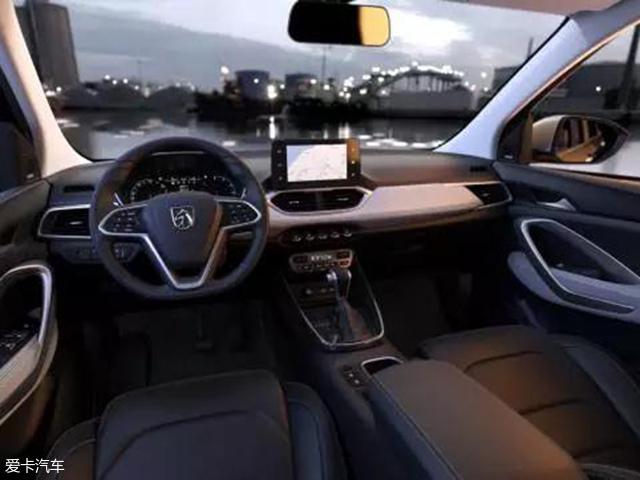 宝骏530内饰官图首发 2种动力/明年上市
