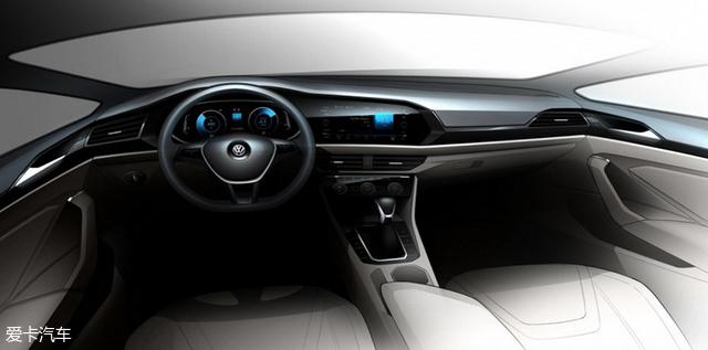 新一代Jetta最新预告图 将北美车展首发