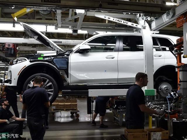 宝马X7官方预告图发布 2018年正式量产