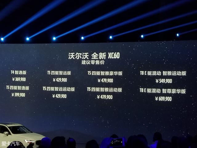 沃尔沃全新XC60正式上市