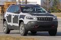 新款Jeep自由光高性能版谍照 造型硬派