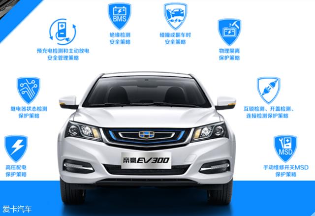四大理由解读吉利帝豪EV300新能源汽车高清图片