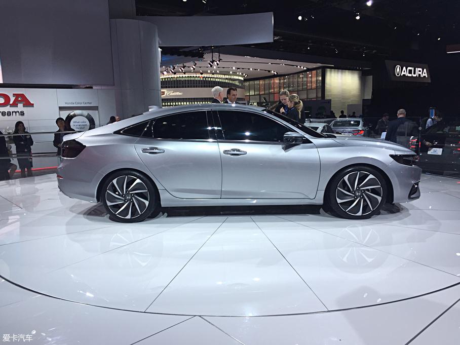 北美车展 本田新一代Insight原型车发布