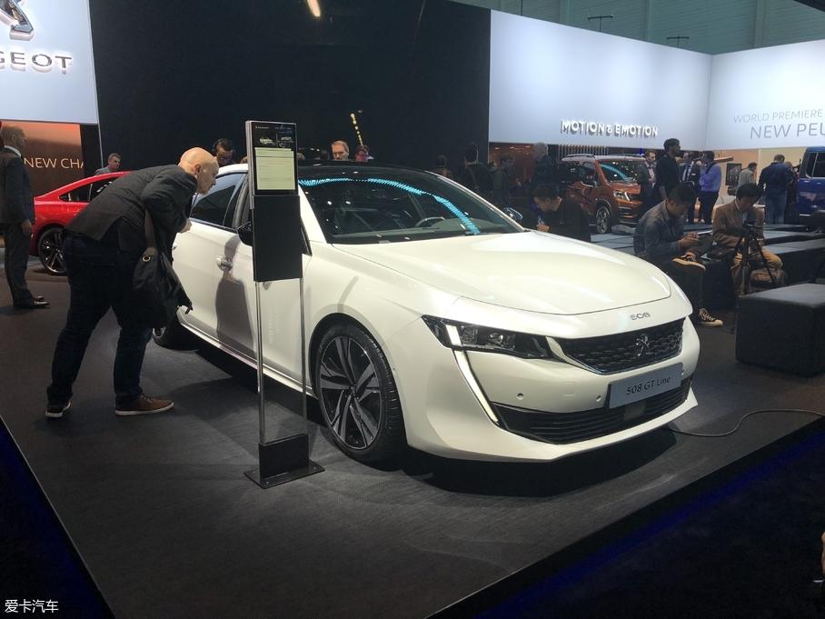 2018日内瓦车展 全新一代标致508亮相