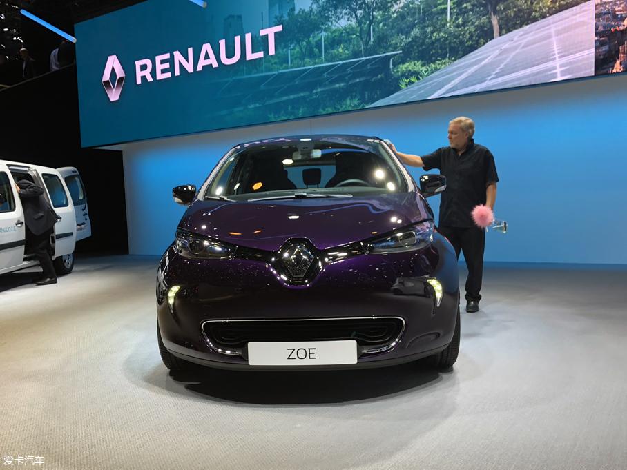 2018日内瓦车展:雷诺ZOE R110正式亮相