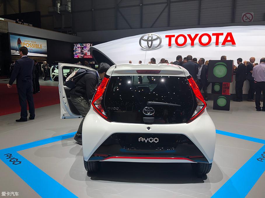 2018日内瓦车展:丰田新款Aygo正式亮相