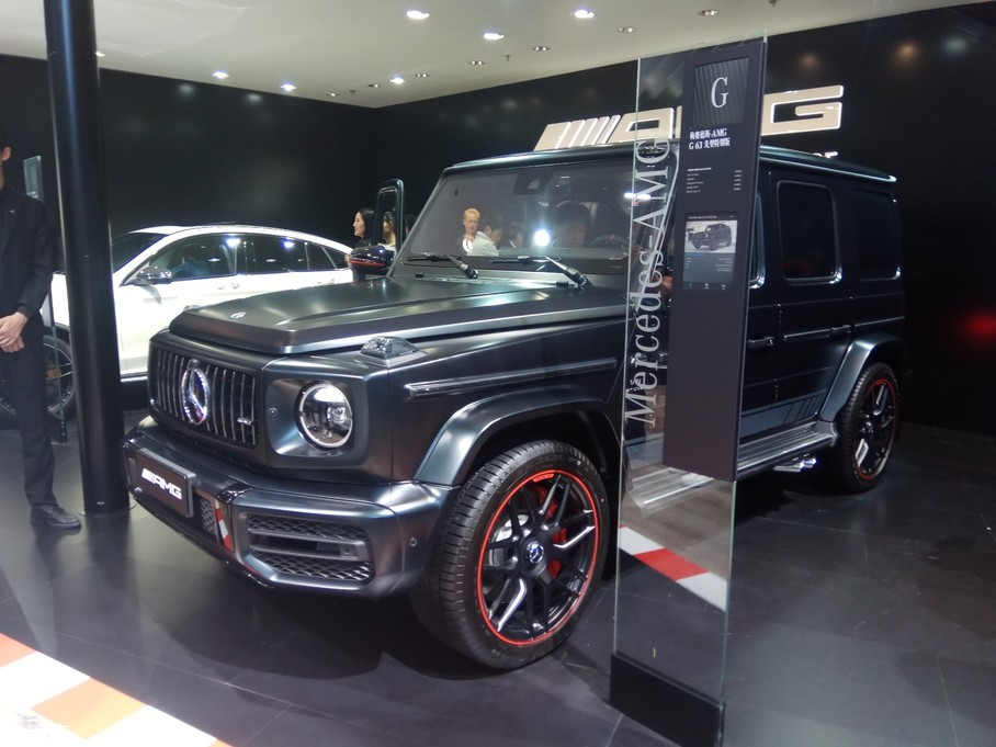 2018北京车展:奔驰新一代G级国内亮相