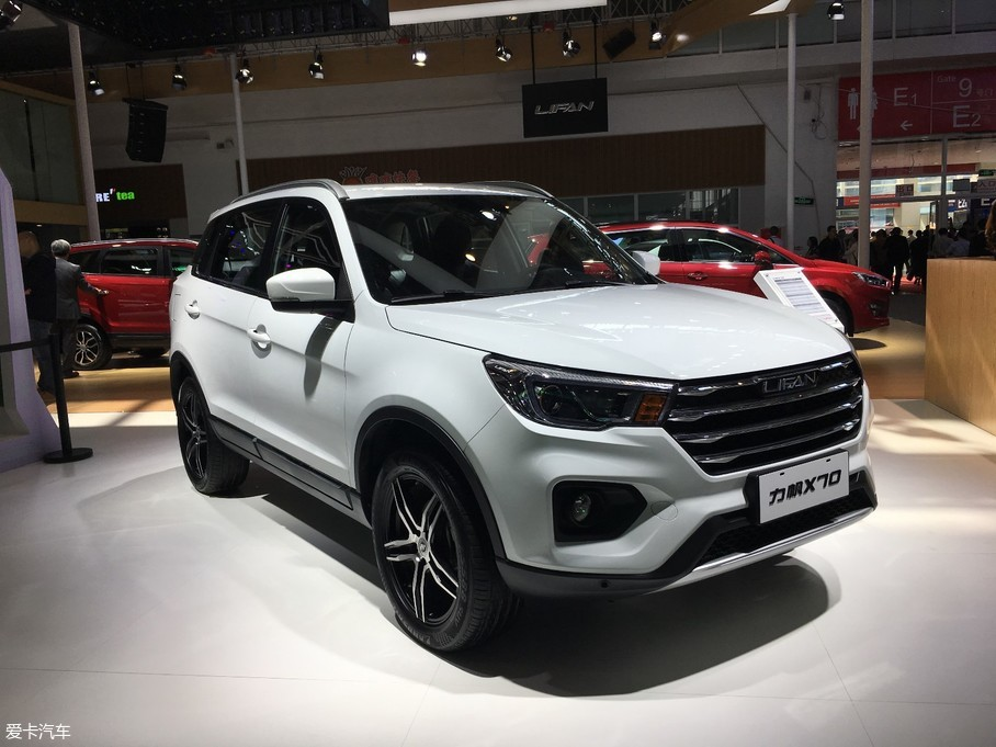 2018北京车展:力帆X70发布将年底上市