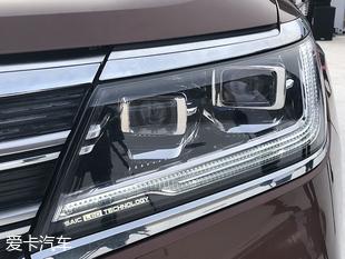荣威RX8正式亮相 采用宽体式布局设计