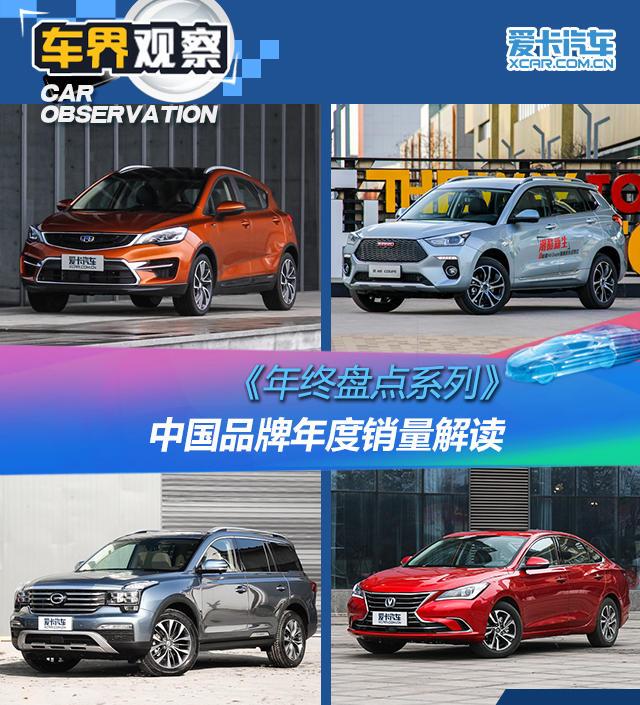 《年终盘点系列》之中国品牌年度销量