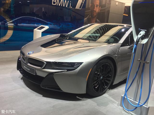 北美车展:宝马新款i8 Coupe正式发布