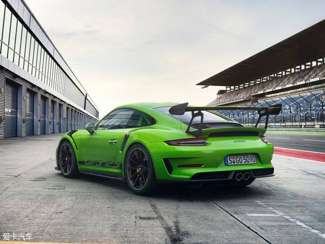 保时捷911 GT3 RS官图 日内瓦车展亮相