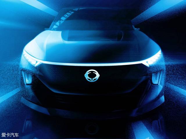 双龙e-SIV概念车