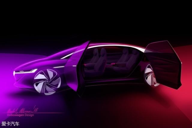 大众I.D. VIZZION概念车将日内瓦车首秀