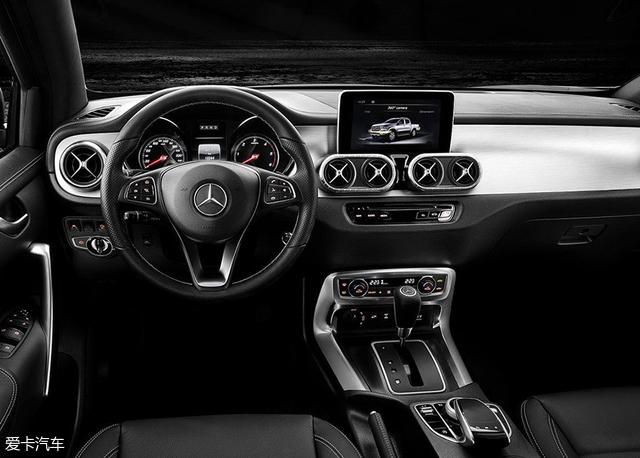 奔驰X级顶配X 350d官图 日内瓦车展亮相
