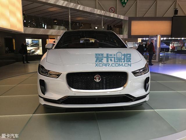 日内瓦车展探馆:捷豹I-PACE抢先实拍