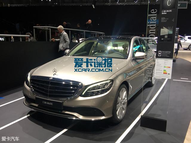 2018日内瓦车展探馆:新款奔驰C级抢先看