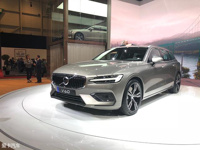2018日内瓦车展:全新沃尔沃V60正式亮相