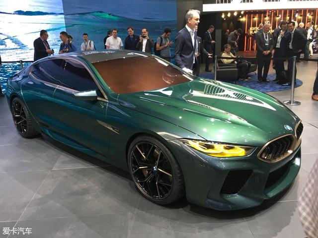 宝马全新8系Gran Coupe概念车