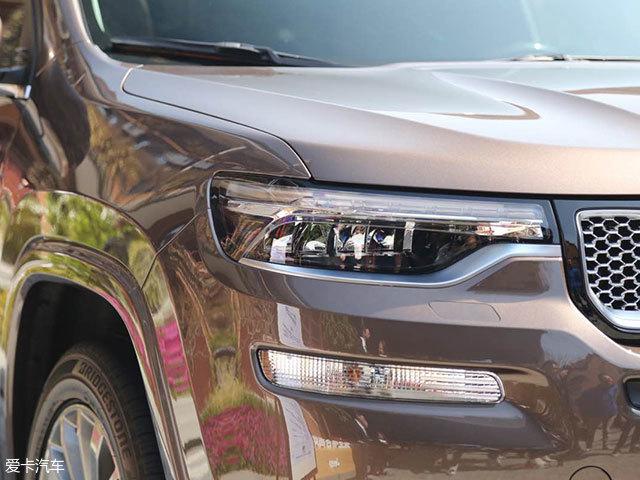 Jeep大指挥官实车亮相 将于二季度上市