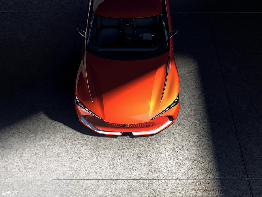 WEY-X概念车官图发布 将北京车展亮相