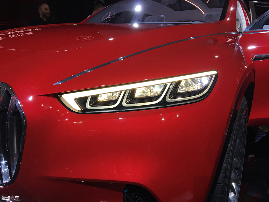 北京车展:迈巴赫全新概念车全球首发