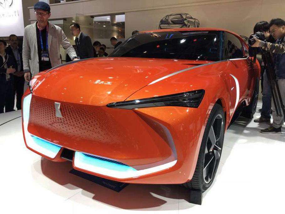 2018北京车展:WEY-X概念车正式发布亮相