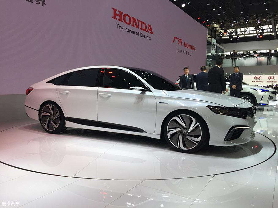 北京车展:本田INSPIRE概念车正式亮相