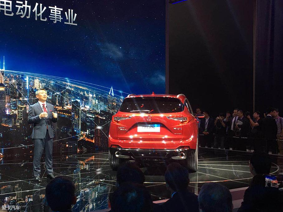 2018北京车展:新一代讴歌RDX发布亮相