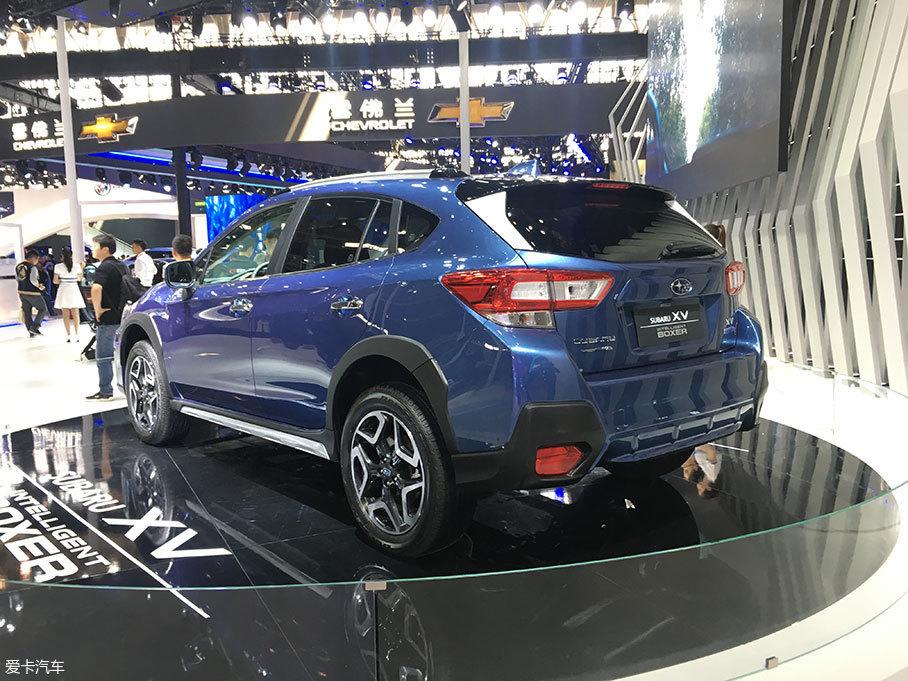 2018北京车展:斯巴鲁XV新增车型亮相