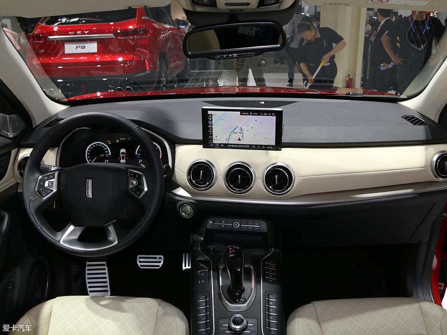 2018北京车展 WEY VV6车型正式首发亮相